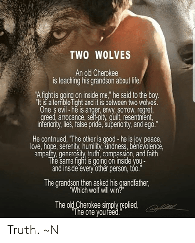 two-wolves-an-old-cherokee-is-teaching-his-grandson-about-48097707
