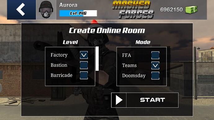 Create Online Room