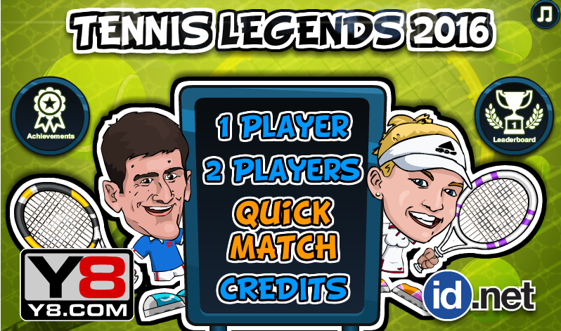 Tennis Legends 2016 Players Forum Y8 Games